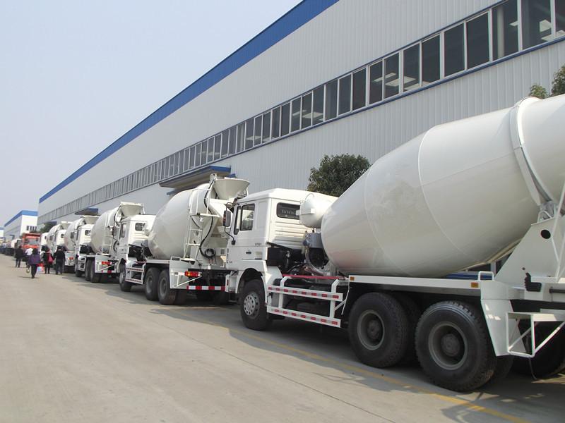 concrete mixer truck manufacturers