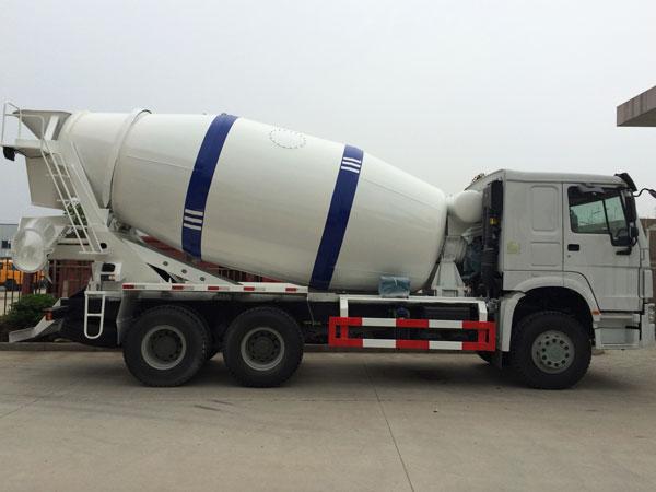 capacity of concrete truck