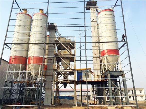 tile adhesive manufacturing plant
