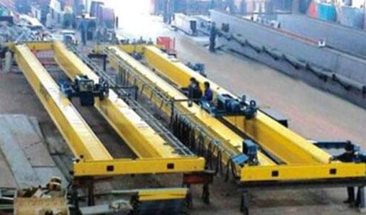 Bridge Crane yellow