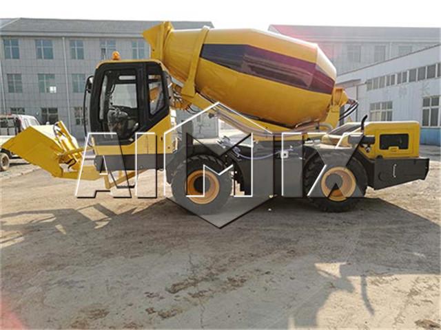 Self Loading Concrete Mixer china