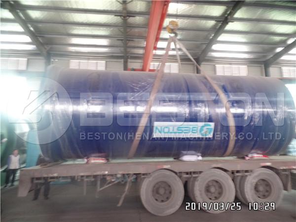 Tyre Pyrolysis Machine to Uganda